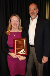 "Heidi Apperson honored as ""4 Under 40"" Hospital Leader"
