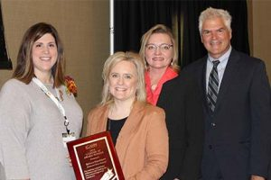 """Rebecca Hutchinson honored as """"4 Under 40"""" Hospital Leader"""