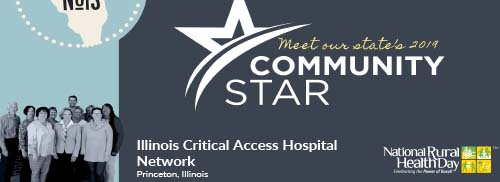 community star for website
